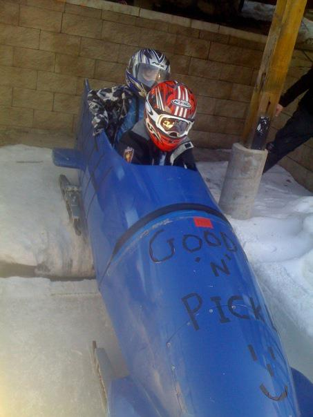 Paralympic Bobsled, Olympic Park, Park City, Utah