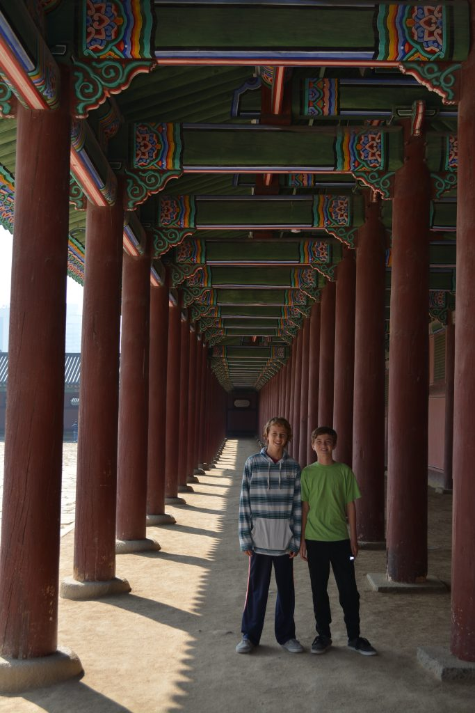 Gyeongbokgung Place, Seoul, South Korea
