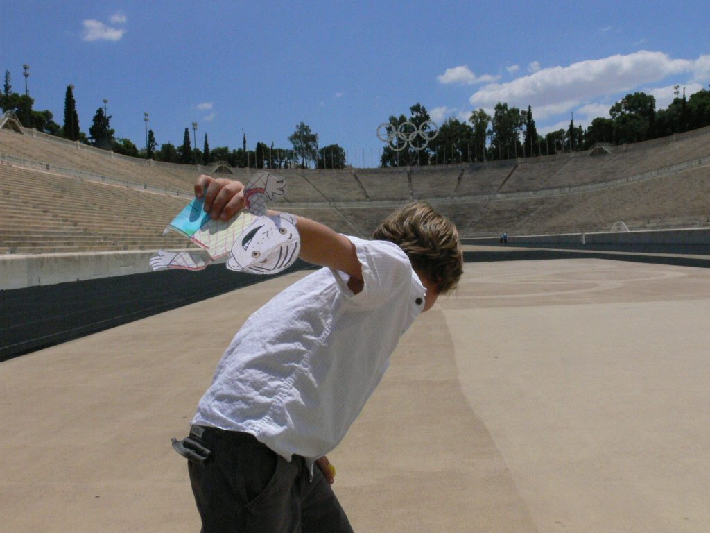 Panathenaic Olympic Stadium, Athens, Greece